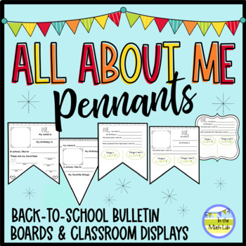 Back to School All About Me Banners