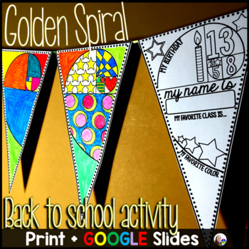 Golden Spiral Get to Know You Pennant