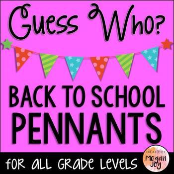 Back to School Pennants