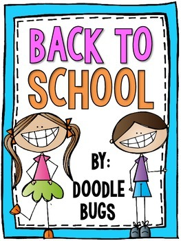 Back to School - Perfect Time Saving Activities