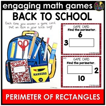 Back to School Perimeter of Rectangles