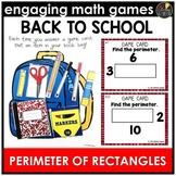 Back to School Perimeter of Rectangles