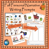 Fall Personal Narrative Writing Task Cards