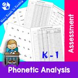 Phonetic Analysis Assessment K-1