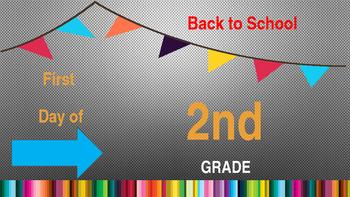 Back to School Photo 2nd Grade