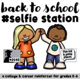 Back to School College & Career Exploration Selfie Station Kit