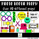 Back to School Photo Booth Props!