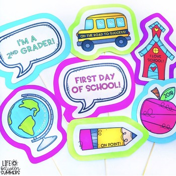 Back to School Photo Booth Props: Bundle
