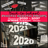 Back to School Photo Booth Props (Class of..., Grades, Hashtags, Etc.)