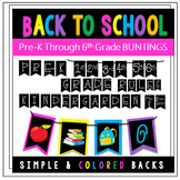 Back to School Photo Op Buntings