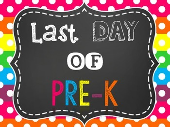 Back to School Photo Signs {Includes first & last days}