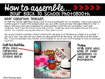 Back to School Photobooth
