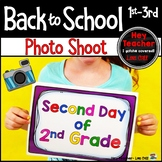 Back to School Photos (First Day of School Pictures)