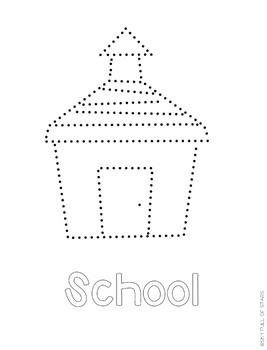 Back to School Pin Art