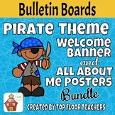 Back to School Pirate Bulletin Board - Bundle