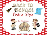 Back to School Pirate Style