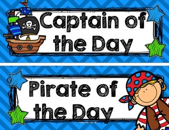 Back to School Pirate Theme