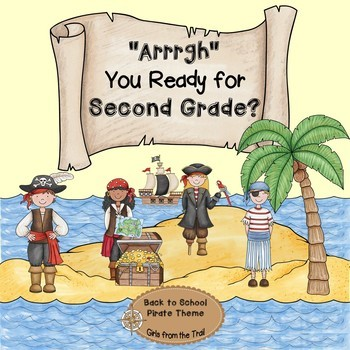 Back to School Pirate Theme Second Grade