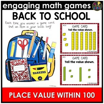 Back to School Place Value Within 100