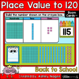 Back to School Place Value to 120 Boom Cards - Digital Dis
