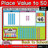 Back to School Place Value to 50 Boom Cards - Digital Dist