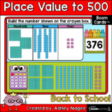 Back to School Place Value to 500 Boom Cards - Digital Dis