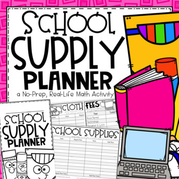 Back to School Planner {A Project Based Learning Activity}