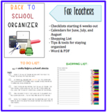 Back to School Planner/Organizer