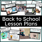Back to School Planning Bundle Reading, Writing, Research