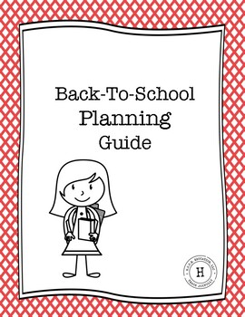 Back-to-School Planning Guide