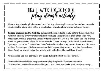 Back to School Play Dough Activity (Burlap Chalkboard/Blackboard Foliage)