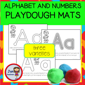 """Back to School Playdough Mats  *FREE* (Matches all """"Back to School"""" Products)"""