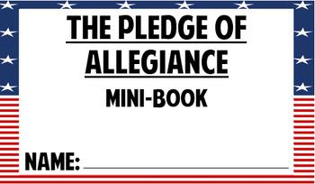 Back to School Pledge of Allegiance Activities!