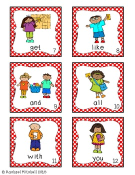 Back to School Poem and Sight Word Activity- Common Core Aligned