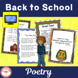 Back to School Poetry