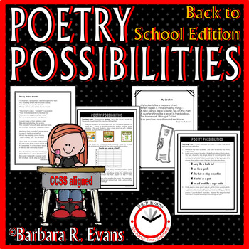 Poetry Possibilities -- Back to School Edition