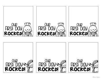 Back to School Pop Rock Gift Topper {Freebie}