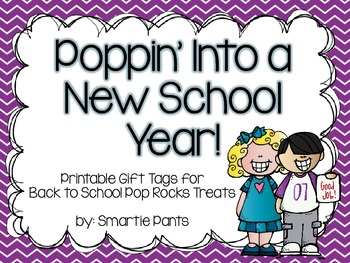 Back to School Pop Rocks Printable
