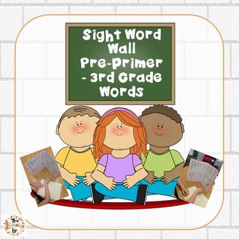 Back to School Portable File Folder Word Walls