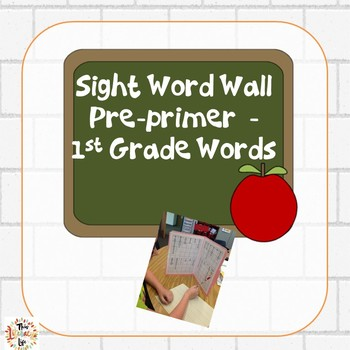 Back to School Portable File Folder Word Walls PP-1st grade