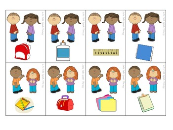 Back to School Possessives Freebie