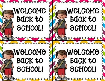Back to School Post Cards