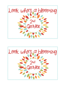 Back to School Post Cards (1st-3rd Grade)