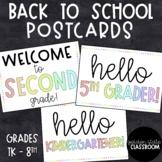 Back to School Postcards