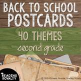 Back to School Postcards: 2nd Grade