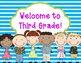 Back to School Postcards- Kids Theme