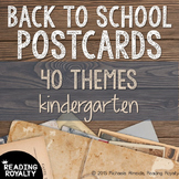 Back to School Postcards: Kindergarten