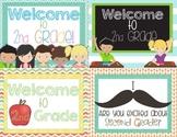 Back to School Postcards Second Grade