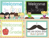 Back to School Postcards Third Grade