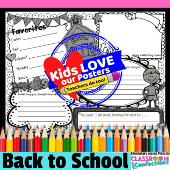 Back to School Activity Poster